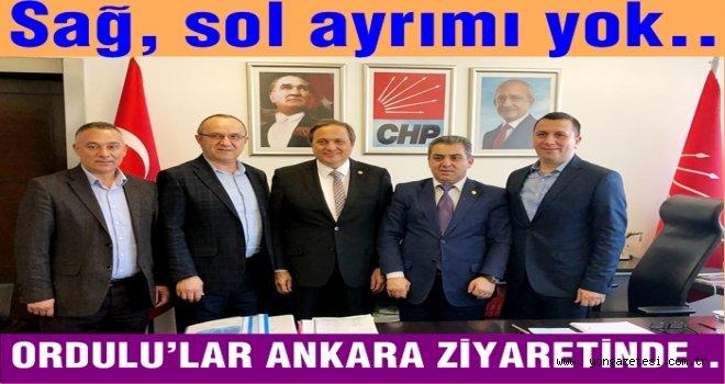Ordu'lular Ankara Protokolünü  ziyaret etti..