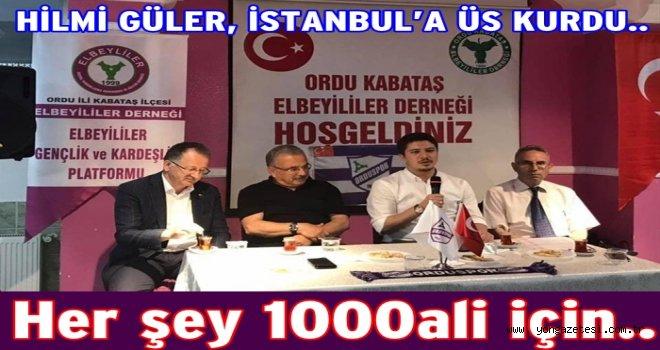 Ordulu'lar İstanbul'a akın etti..
