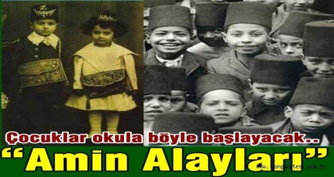 """Osmanlı'da  """"AMİN ALAYLARI"""" geleneği canlanıyor.."""
