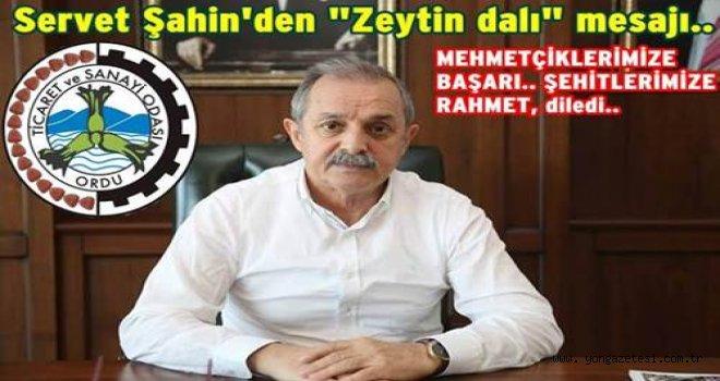 OTSO'dan Zeytin dalı harekatı açıklaması..