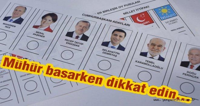 Oy pusulası nasıl geçerli ya da geçersiz sayılacak?