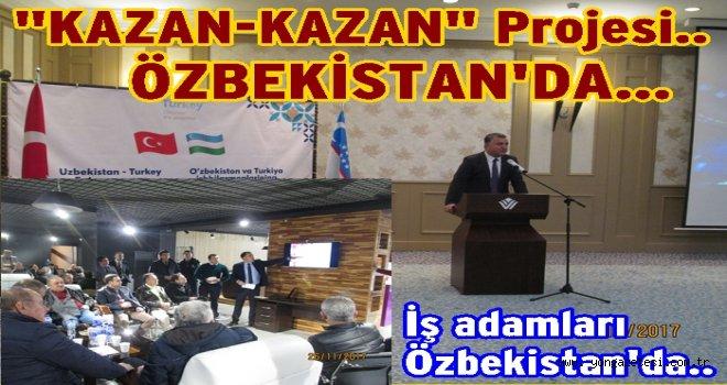 Özbekistan-Türkiye iş adamları toplantısı başladı..