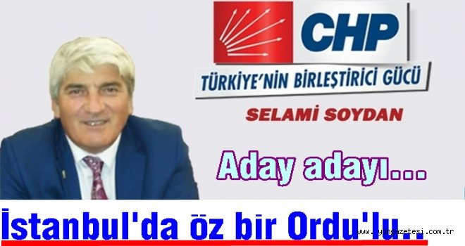 Perşembe'li emekli öğretmen İstanbul'dan aday…