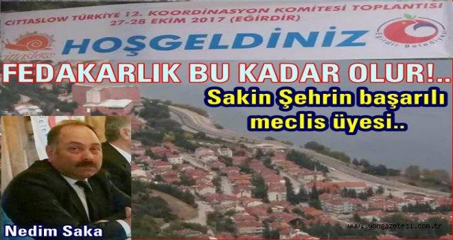 PERŞEMBE'Yİ NEDİM SAKA TEMSİL EDİYOR..