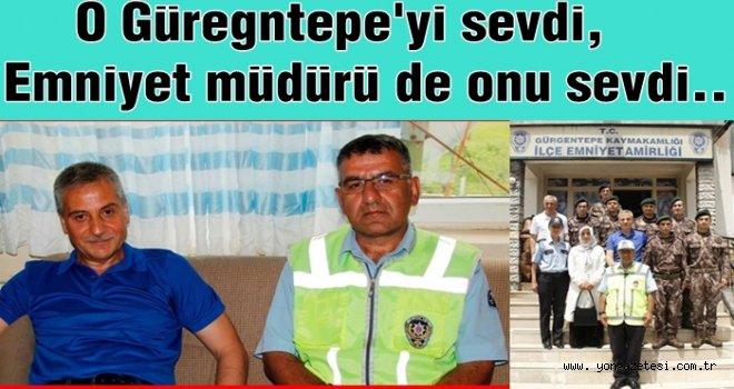 Polis memurunun Gürgentepe sevgisi..