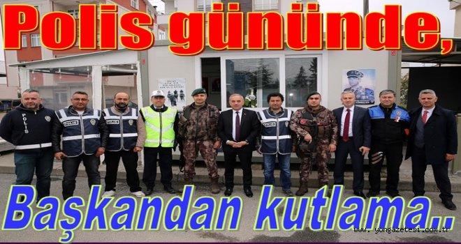 POLİSLERİN 10 NİSAN POLİS GÜNÜ'NÜ KUTLADI..