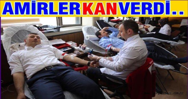 Protokolden Kan bağışına tam destek..