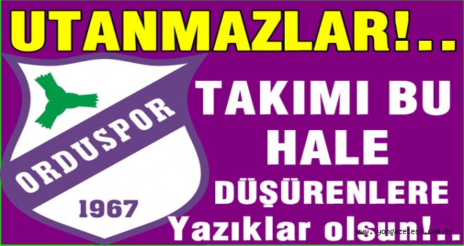Sahipsiz kalan Orduspor'a Atakum Belediyesi destek verdi.