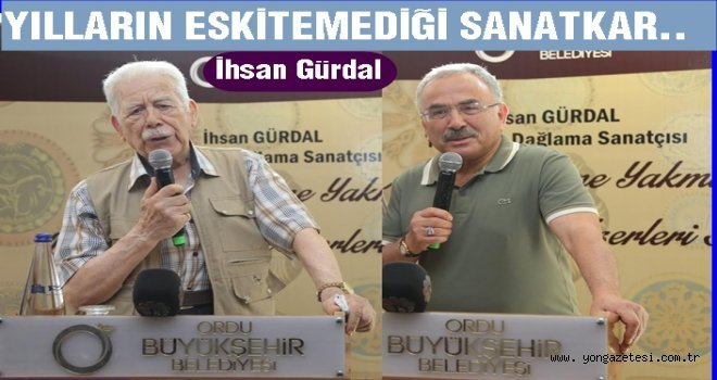 SANAT İLE AHŞAP AŞKI BU SERGİDE BULUŞTU..