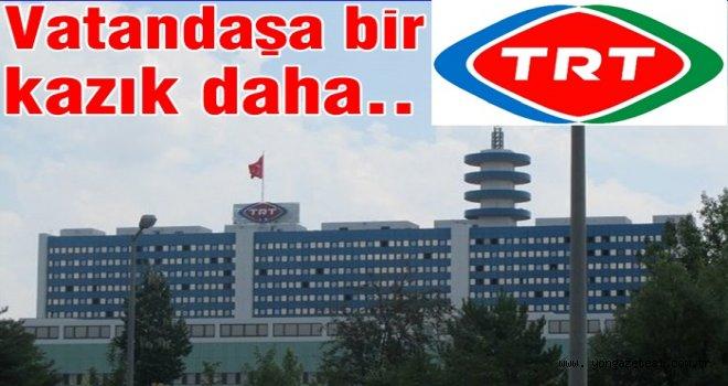 Sanayicinin iptal edilen TRT payını vatandaş ödeyecek.