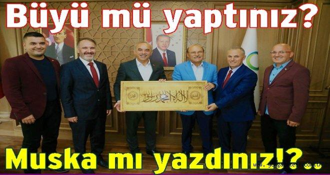 Sendika genel kurulunda  Arapça tablo?