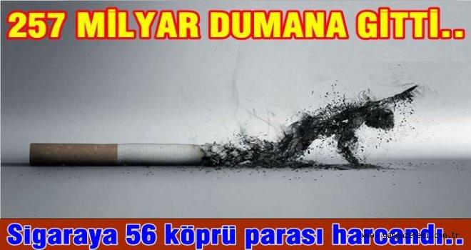 Sigara tüketimi gün geçtikçe artıyor..