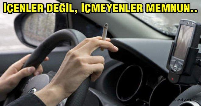 Sigara yasağından içmeyenler memnun..