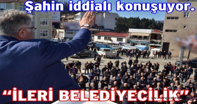 SP. Adayı Şahin Ulubey ilçesine müjde verdi..
