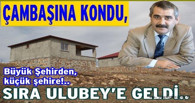 Taşkın Yurdakul  Ulubey'e CHP aday adayı..