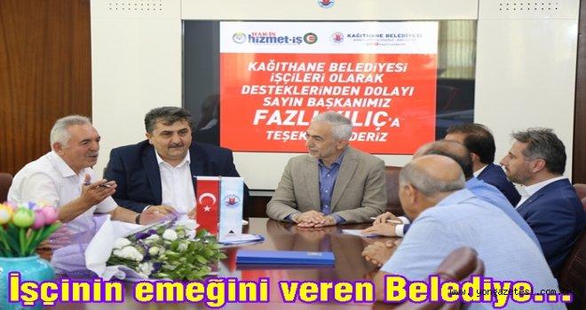 TOPLU İŞ SÖZLEŞMESİNDE YÜZLER GÜLDÜ..