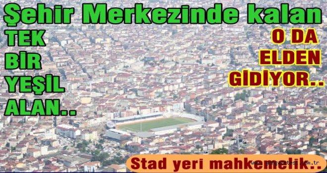 TORUNLARI STAD YERİNE SAHİP ÇIKTI..