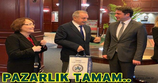 Türk Fındığı Kanada pazarında satılacak..