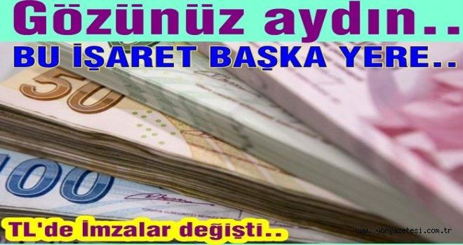 Türk Lirası üzerindeki imza değişti!