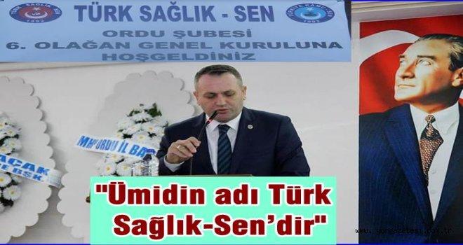 Türk Sağlık-Sen başkanı Zengin Kongrede ne söyledi?