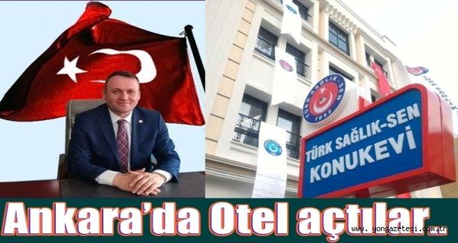 Türk Sağlık Sen'den yeni bir hizmet..