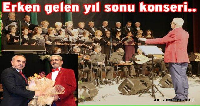Türk sanat müziği konseri gerçekleştirildi..