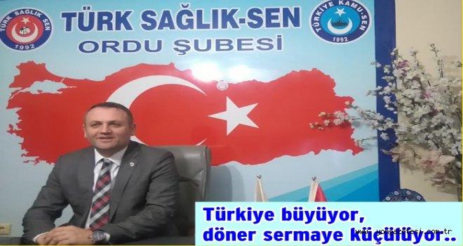 Türkiye büyüyor, döner sermaye küçülüyor..