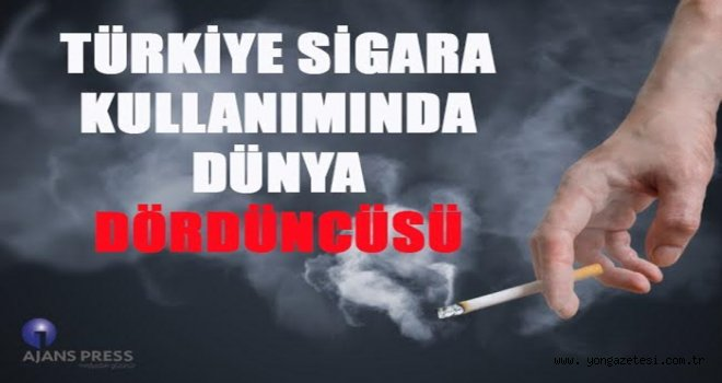 Türkiye sigara kullanımında rekor kırıyor..