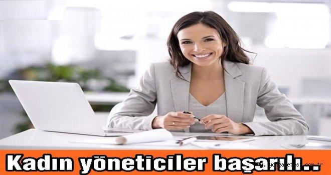 Türkiye'de 5 yöneticiden 1'i kadın..