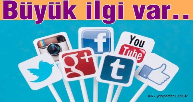 Türkiye'de sosyal medya dur durak bilmiyor..