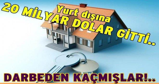Türkler yurtdışında 20 milyar dolarlık konut aldı..