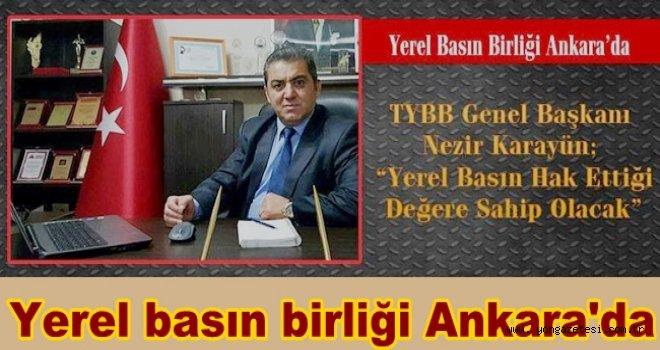 TYBB Ankara'da çalıştaya katılacak..