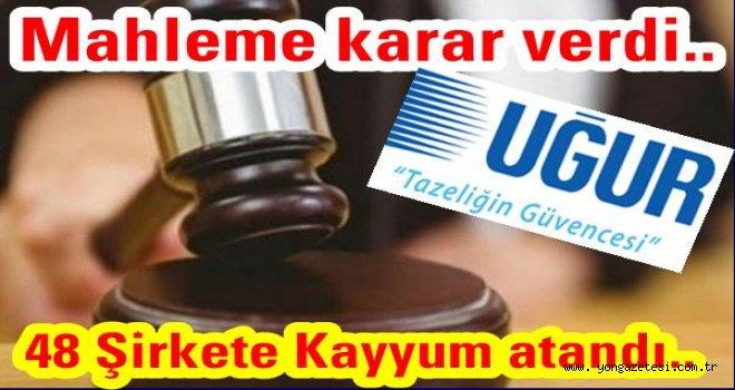UĞUR Derin dondurucu firması da FETÖ kurbanı..