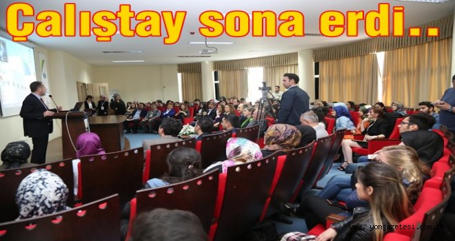 Üniversitede Genç Türkologlar Çalıştayı gerçekleştirildi..