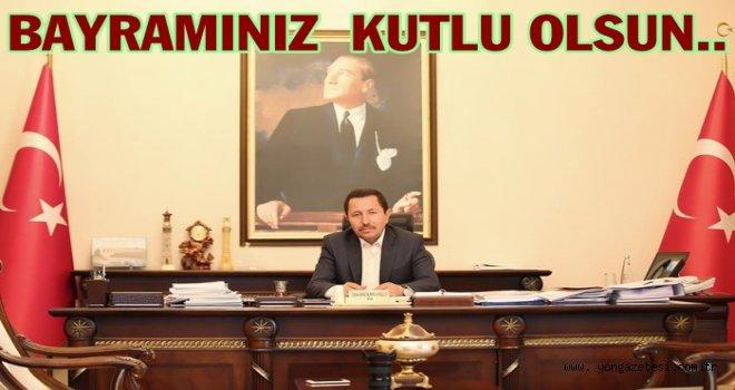 Vali Balkanlıoğlu Bayram mesajı yayınladı..