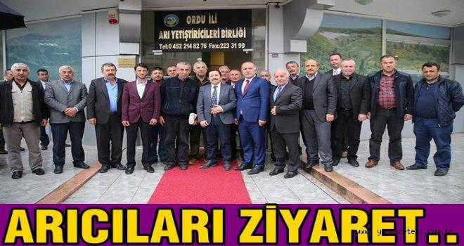 Vali İrfan Balkanlıoğlu, Arıcıların sorunlarını dinledi..