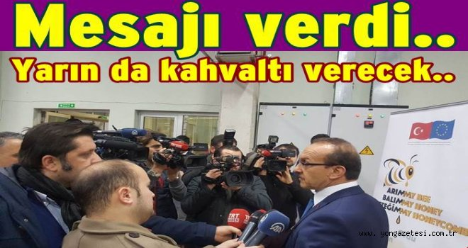 Vali Yavuz'dan 10 Ocak kutlama mesajı..