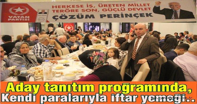 VATAN PARTİSİ ADAYLARINI TANITTI..