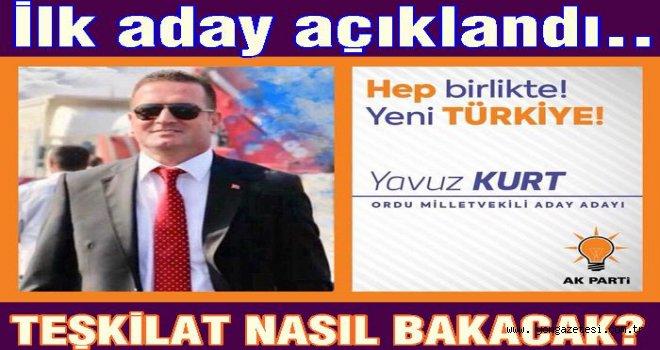 Yavuz Kurt AKP'den adaylığını ilan etti..