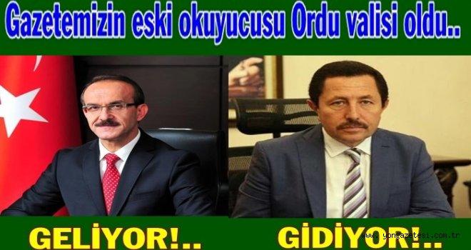 YENİ ORDU VALİSİ BELLİ OLDU..