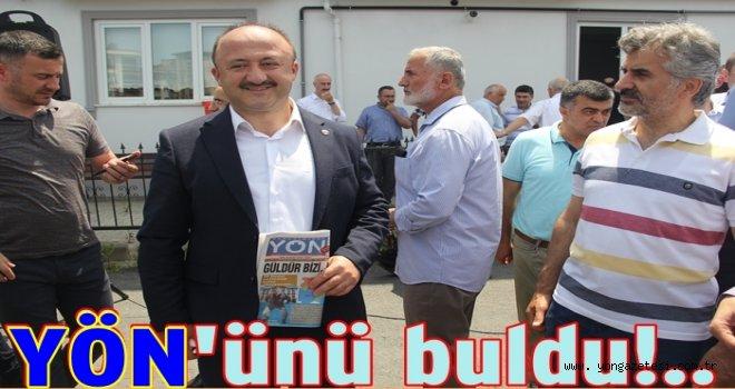 YÖN Gazetesi İsmail Çelenk'e de alışkanlık yaptı..