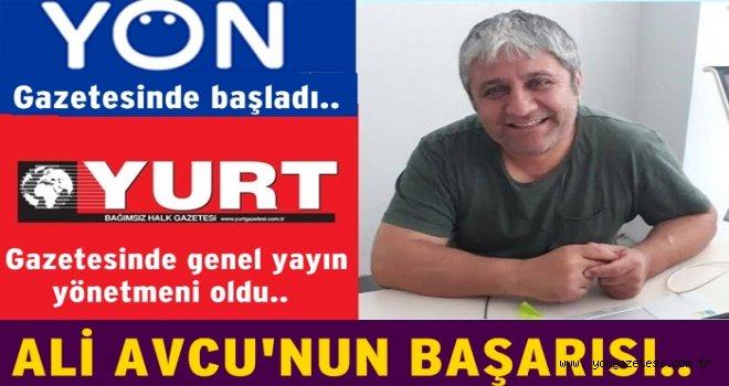 YÖN'de başladı. YURT Gazetesine genel yayın yönetmeni oldu..