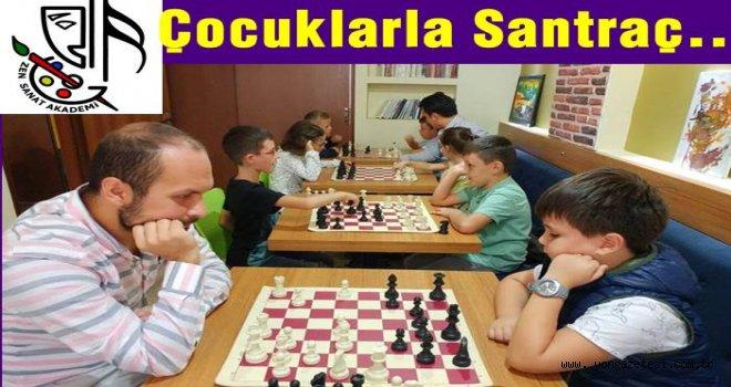 ZEN SANAT ve spor akademisinde satranç turnuvası..