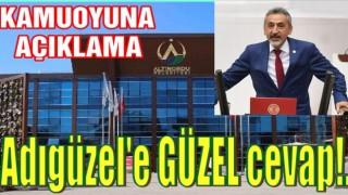Altınordu Belediyesi Adıgüzel'e, GÜZEL bir cevap verdi..