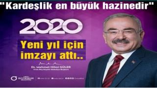 BAŞKAN GÜLER'İN YENİ YIL MESAJI..