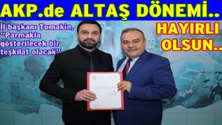 AK Parti Altınordu ilçe başkanlığına taze kan..