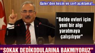 """Başkan Güler, """"Çirkinleşen Şehirlerin sebebi imardır"""""""