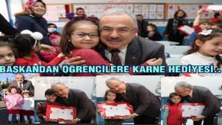 Başkan Güler, karne sevincine ortak oldu..