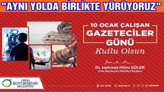 Başkan Güler'den ,10 OCAK kutlama mesajı..