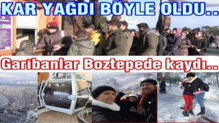 Ordu'nun yerli fakir halkı Boztepe'ye çıktı..,